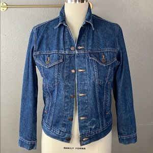 Vintage Levi's Jean Denim Jacket Size 38